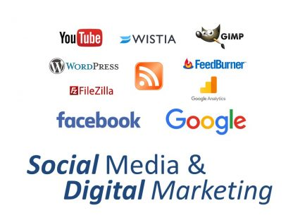 Social Media & Digital Marketing Training Course logo image only