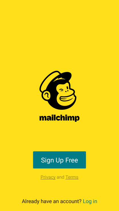 Email marketing training course using MailChimp